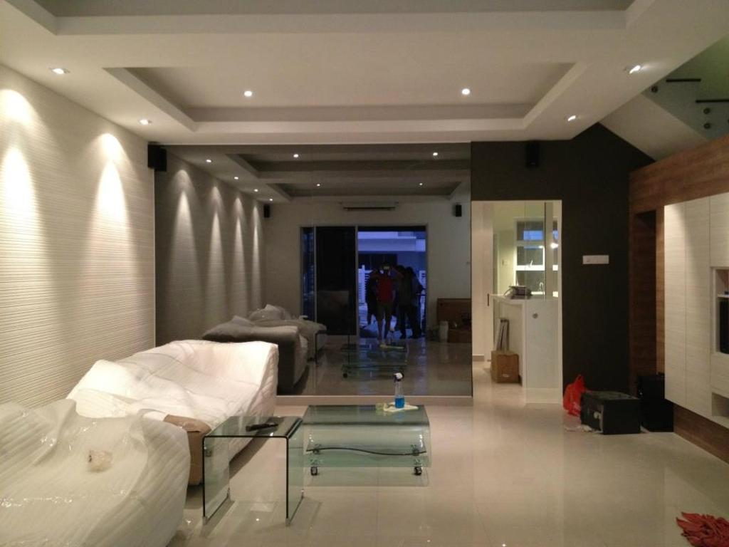 Minimalistic, Landed, Living Room, Kota Kemuning Damai Residences, Interior Designer, One Space Sdn Bhd