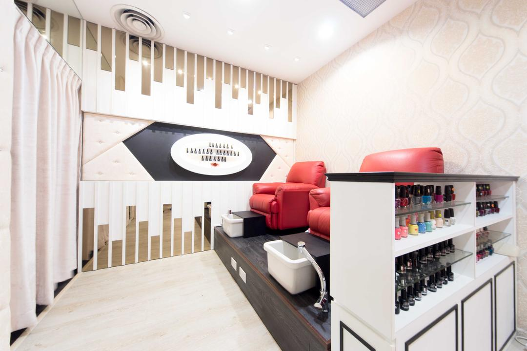 Clementi 2, Unity ID, Contemporary, Commercial, Shop Interior, Shop Front, Counter, Wallpaper, Storage, Cabinet
