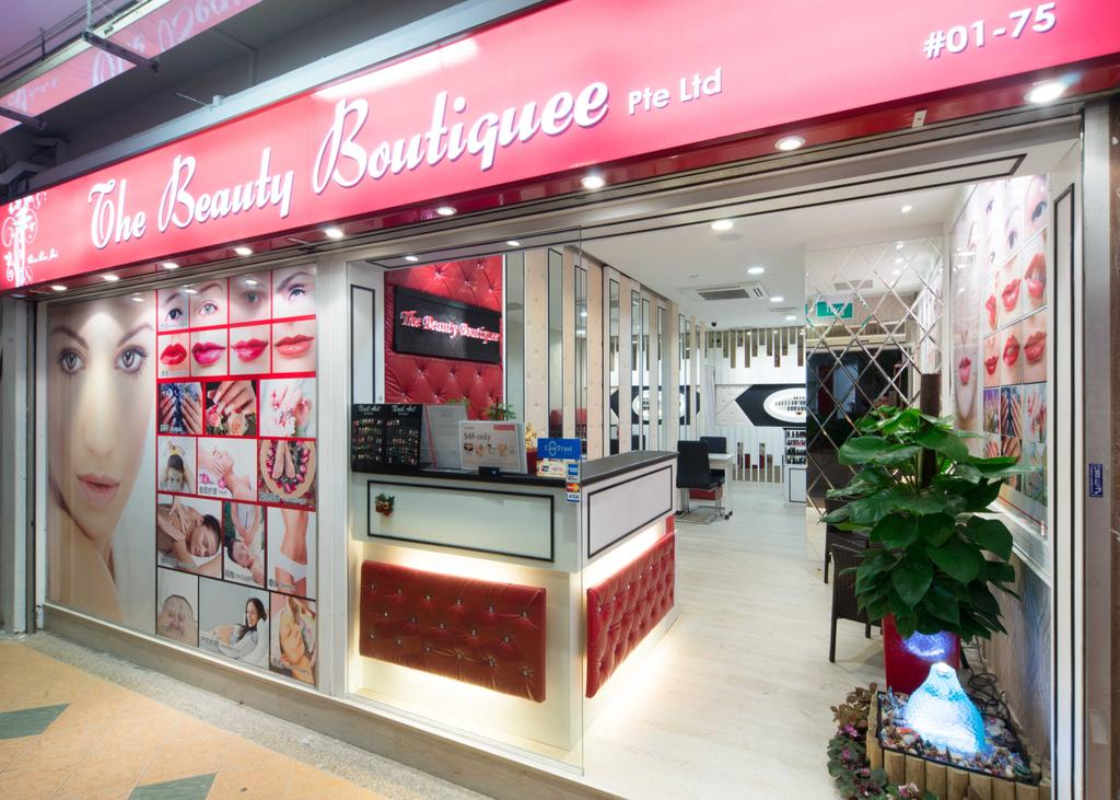 Clementi 2, Commercial, Interior Designer, Unity ID, Contemporary, Shop Exterior, Shop Front, Entrance