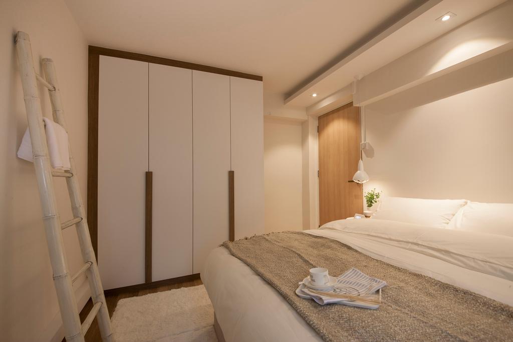 Scandinavian, HDB, Bedroom, Toa Payoh North, Interior Designer, Mr Shopper Studio, Indoors, Interior Design, Room, Bed, Furniture