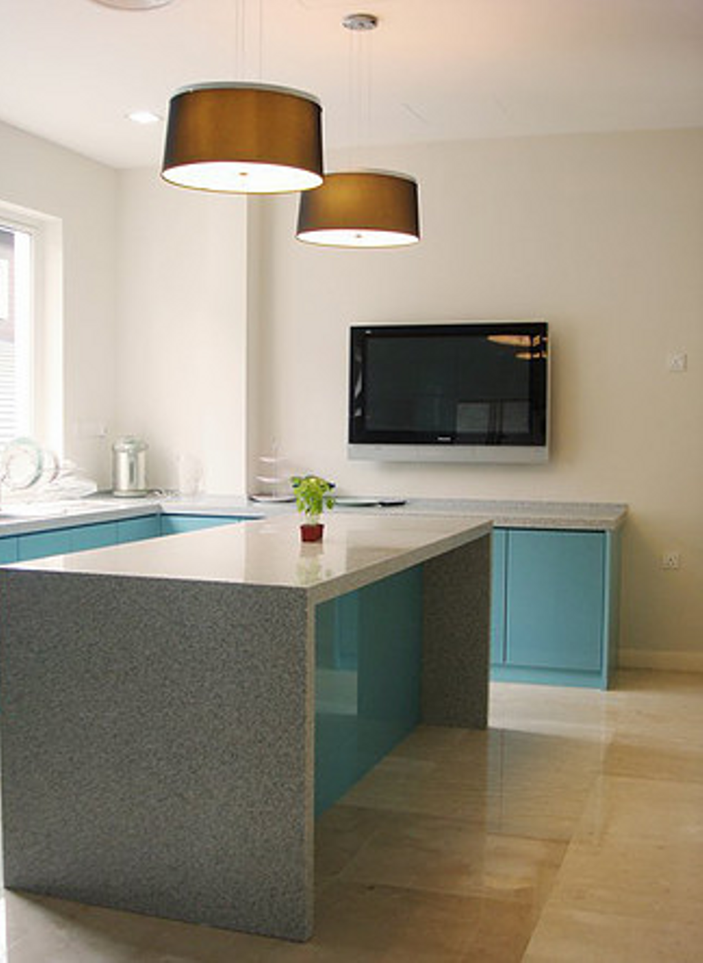 Modern, Condo, Kitchen, Kuala Lumpur, Interior Designer, In SPACE Concept Design, Contemporary, Sink