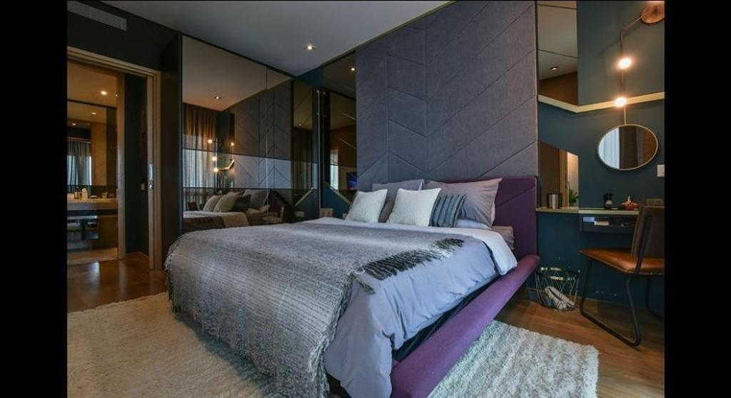 Minimalistic, Condo, Bedroom, Damansara City - Type A2, Interior Designer, Metrics Global Sdn Bhd, Indoors, Room