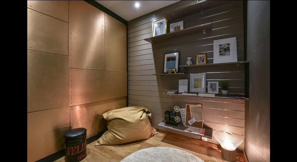 Minimalistic, Condo, Study, Damansara City - Type A2, Interior Designer, Metrics Global Sdn Bhd