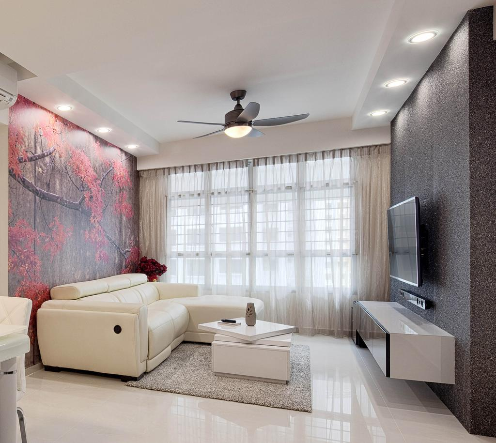 Traditional, HDB, Living Room, Boon Lay Grove (Block 183C), Interior Designer, Absolook Interior Design, Couch, Furniture, Building, Housing, Indoors