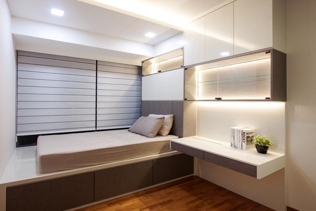 Modern, Condo, Bedroom, Waterfront Isle, Interior Designer, Space Atelier, Indoors, Interior Design