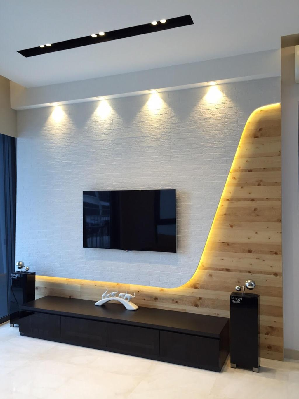 Modern, Condo, Living Room, Leedon Heights, Interior Designer, Yujia Interior Design, Contemporary