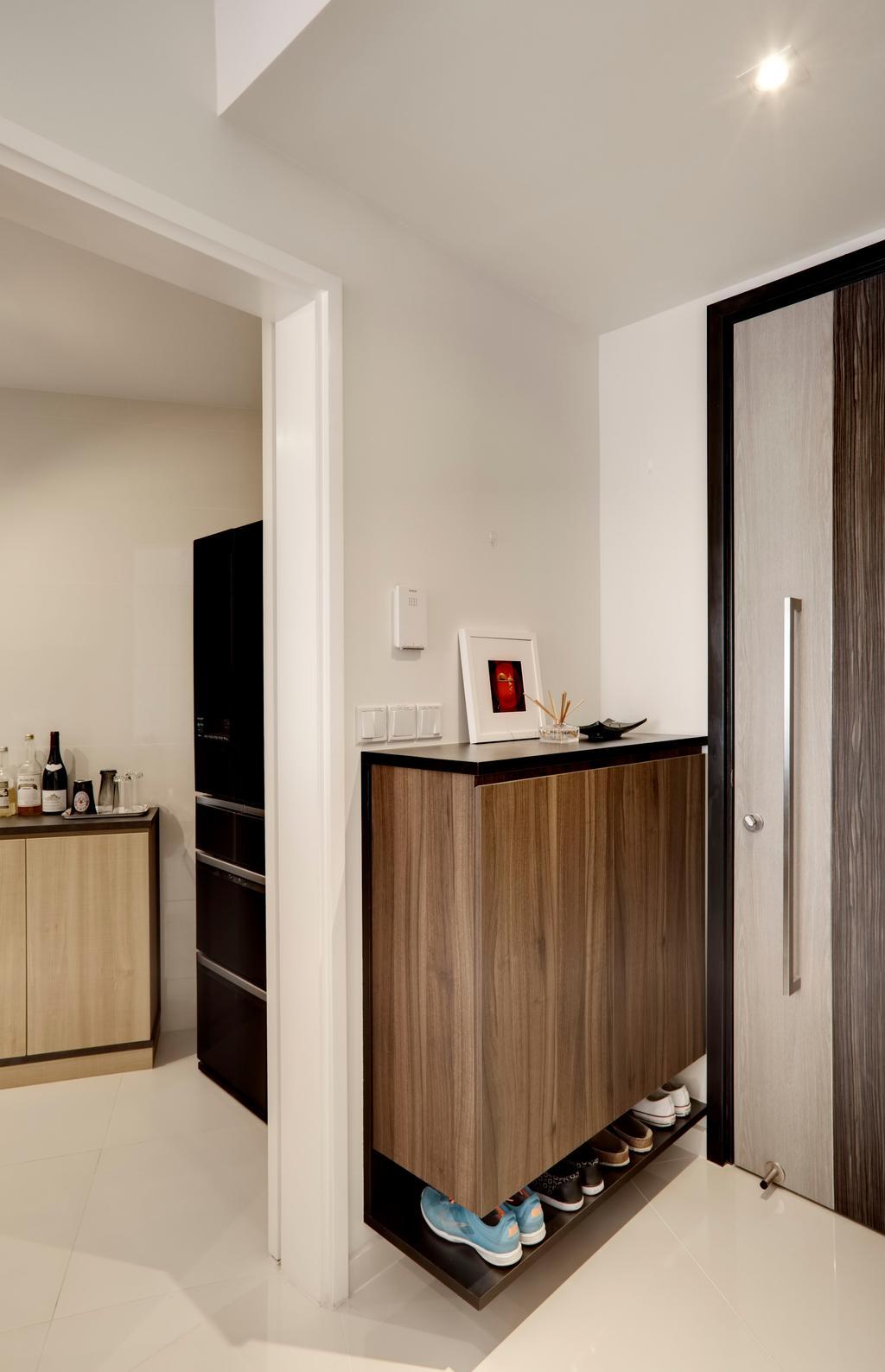 Modern, Condo, Living Room, The Interlace, Interior Designer, Liid Studio, Wood Laminate, Laminat