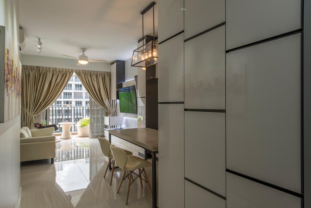 Modern, Condo, Living Room, Heron Bay, Interior Designer, Glamour Concept, Dining Table, Furniture, Table, Dining Room, Indoors, Interior Design, Room