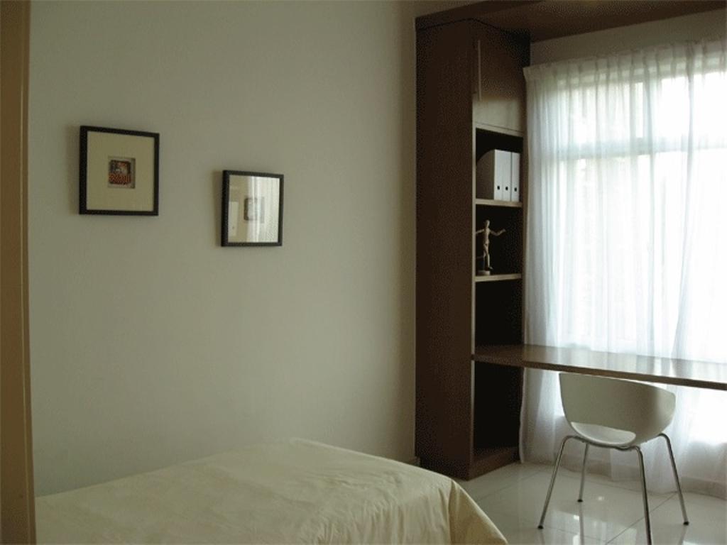 Contemporary, Condo, Bathroom, Angkasa Nuri Show Unit, Interior Designer, Arkitek U-Lin, Minimalistic, Chair, Furniture, Bedroom, Indoors, Interior Design, Room