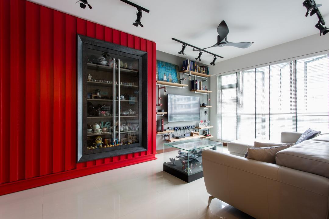 Punggol Drive Living Room Interior Design 5