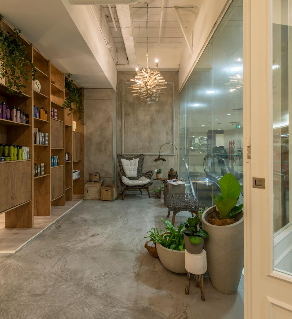 Evolve Salon, Commercial, Interior Designer, Bowerman, Eclectic, Flora, Jar, Plant, Potted Plant, Pottery, Vase, Herbs, Planter, Indoors, Interior Design