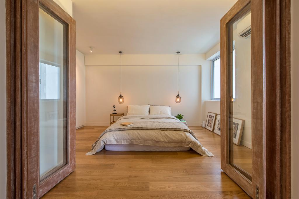 Scandinavian, HDB, Bedroom, Jalan Batu (Block 6), Interior Designer, Bowerman