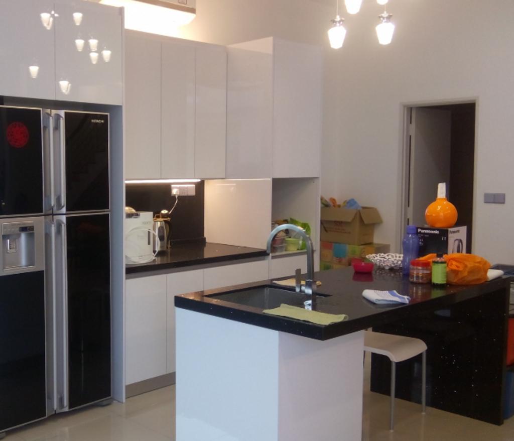 Contemporary, Condo, Kitchen, Residence, Interior Designer, Lora Kitchen Design, Modern