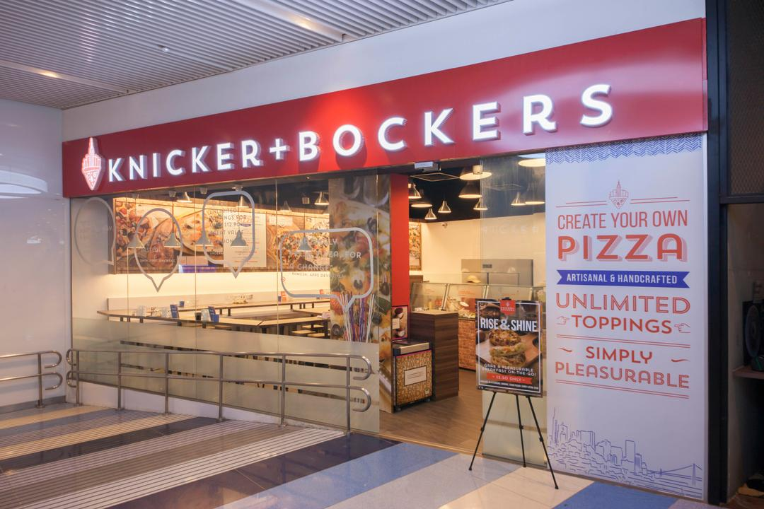 Bockers & Co, Schemacraft, Industrial, Commercial, Bockers Co, Pizza Restaurant, Banner, Entrance, Glass Panel