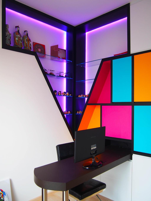 Contemporary, Condo, Study, H20 Fernvale Link, Interior Designer, Style Living Interior, Modern