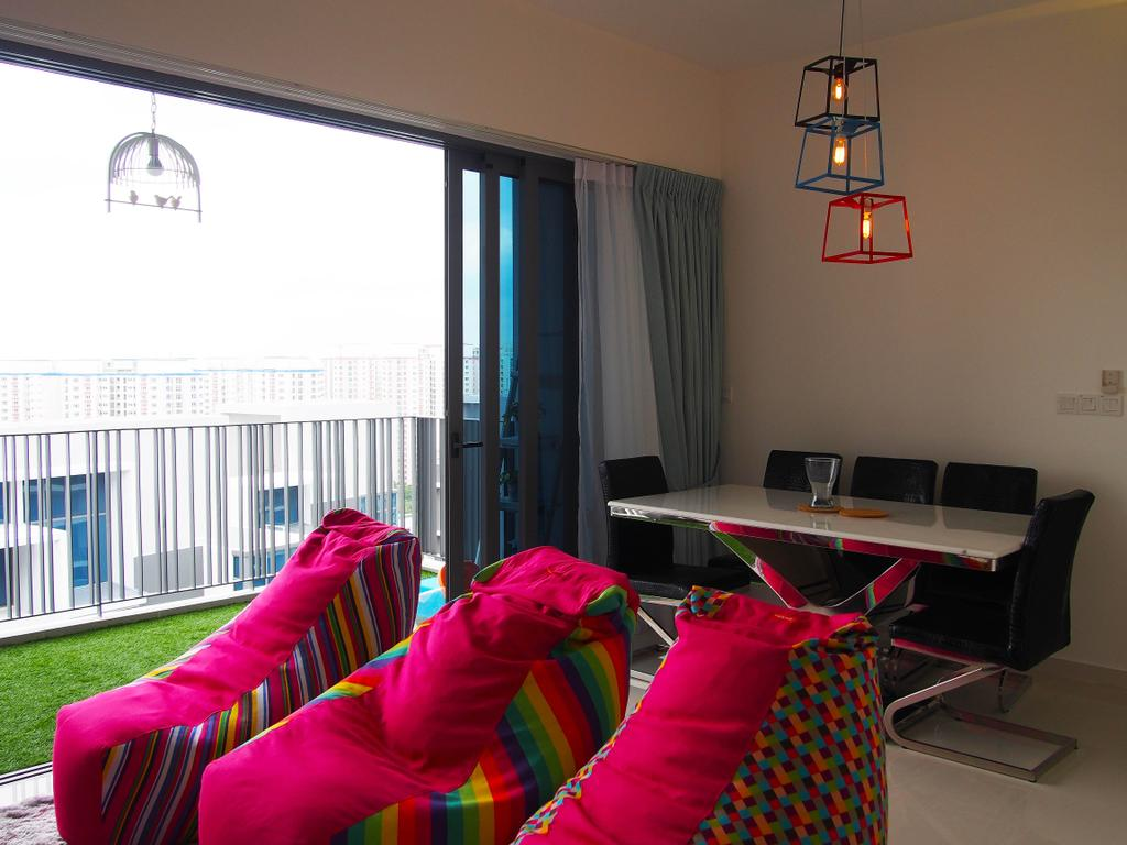Contemporary, Condo, Dining Room, H20 Fernvale Link, Interior Designer, Style Living Interior, Modern, HDB, Building, Housing, Indoors