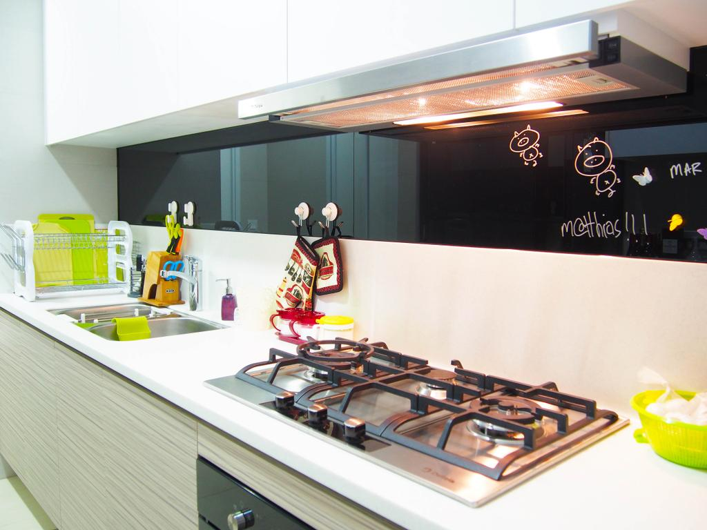 Eclectic, Condo, Kitchen, The Arc @ Tampines, Interior Designer, Style Living Interior