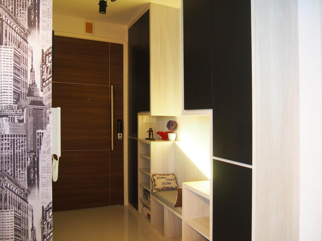 Eclectic, Condo, The Arc @ Tampines, Interior Designer, Style Living Interior, Indoors, Interior Design, Paper