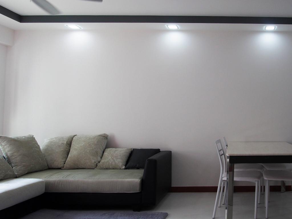 Modern, HDB, Living Room, Sengkang West Way, Interior Designer, Style Living Interior, Couch, Furniture, Chair