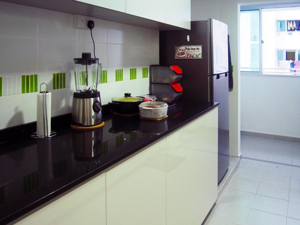 Scandinavian, HDB, Kitchen, Anchorvale Road, Interior Designer, Style Living Interior, Blender, Mixer, Indoors, Interior Design, Room