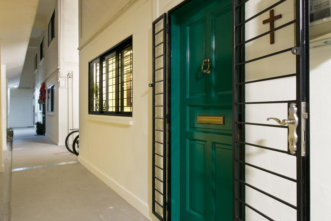 Ubi, Fineline Design, Contemporary, HDB, Gate, Grille, Entrance, Main Door