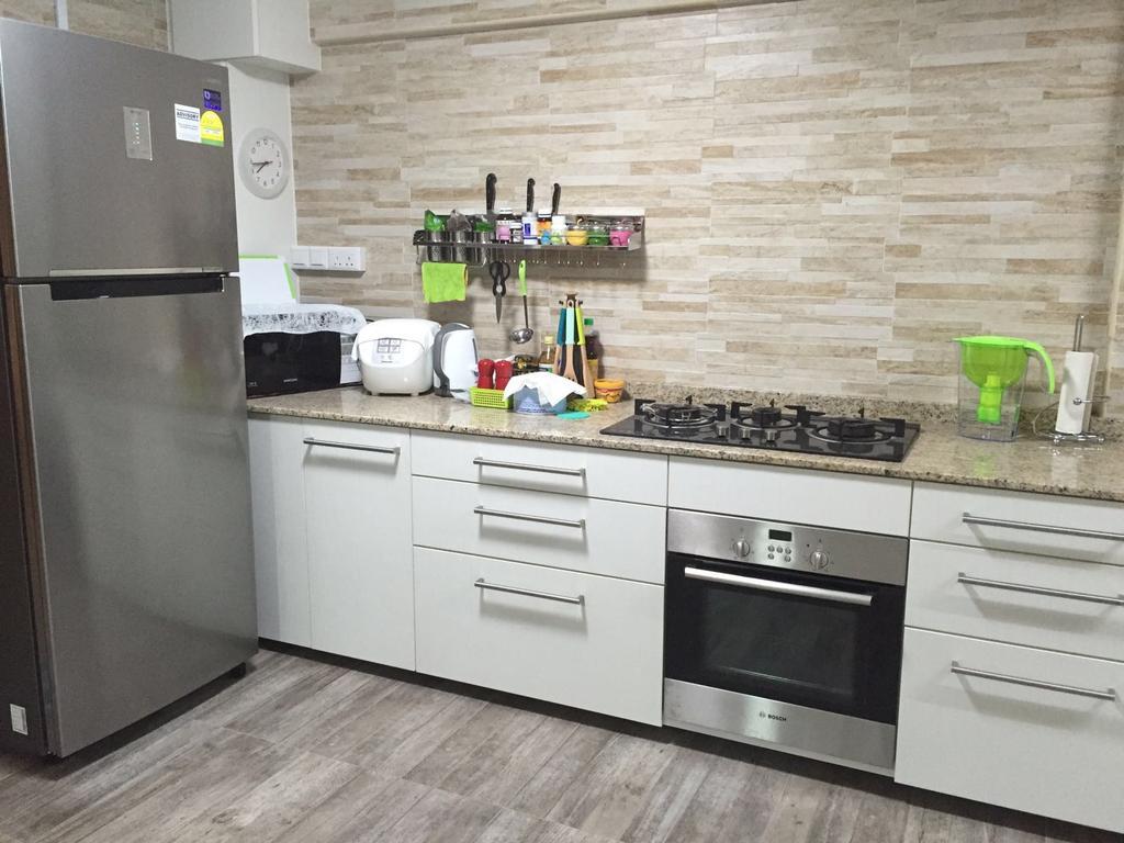 Contemporary, HDB, Kitchen, Dover Crescent, Interior Designer, DL Abode Design Solutions