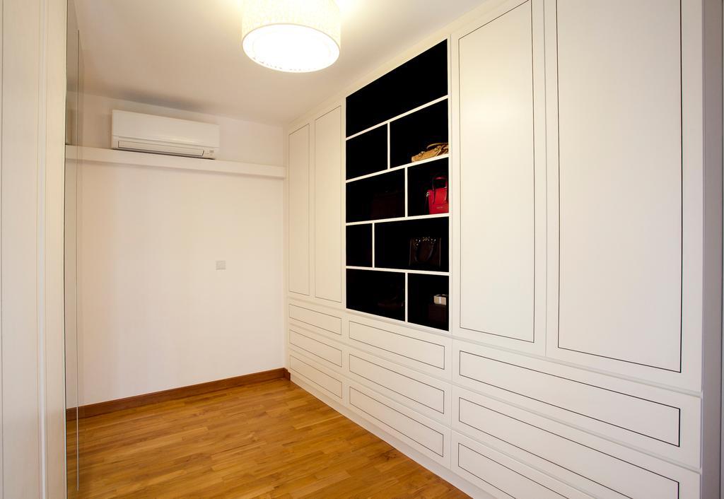 Scandinavian, HDB, Bedroom, Anchorvale, Interior Designer, Voila, Parquet, Flooring