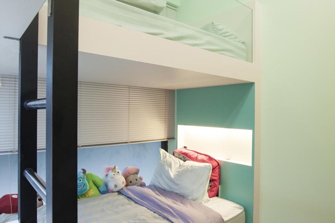 Blossom Residences, Space Atelier, Modern, Bedroom, Condo, Douber Decker