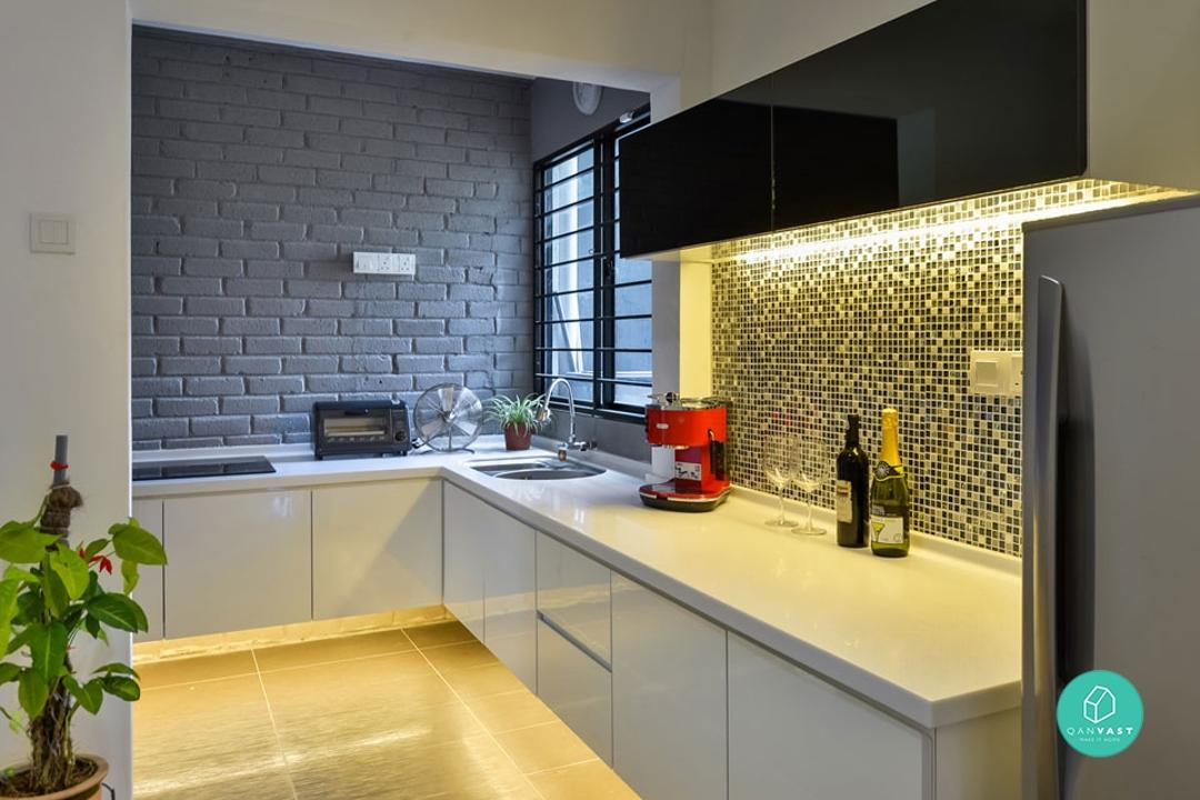 6 Practical Wet And Dry Kitchen Ideas