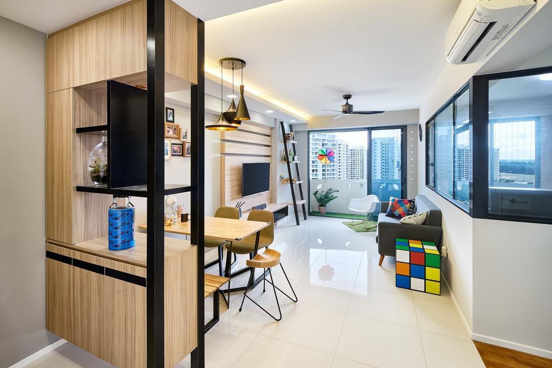 Modern Scandinavian Interior Design Singapore Interior