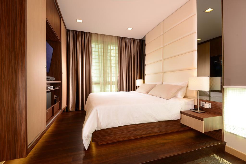 Modern, Condo, Bedroom, Tree House, Interior Designer, Darwin Interior, Indoors, Room, Bed, Furniture