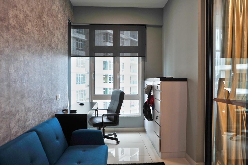 Modern, Condo, Study, Royal Regent Putramas 3, Interior Designer, Spazio Design Sdn Bhd, Contemporary, Couch, Furniture, Brewery, Building, Factory