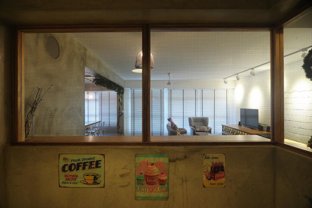 Industrial, HDB, Kitchen, Yishun Natura (Block 342), Interior Designer, Superhome Design