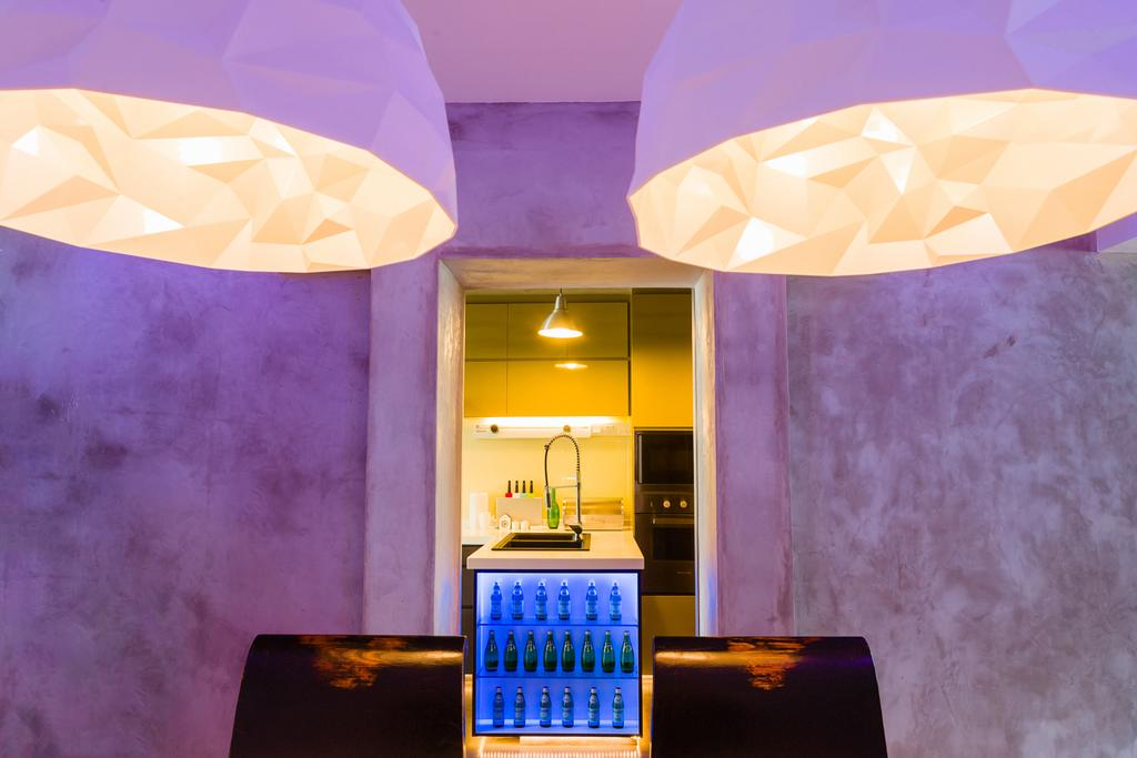 Eclectic, HDB, Bedroom, Woodlands (Block 820), Interior Designer, Prozfile Design, Alcohol, Beverage, Drink, Liquor
