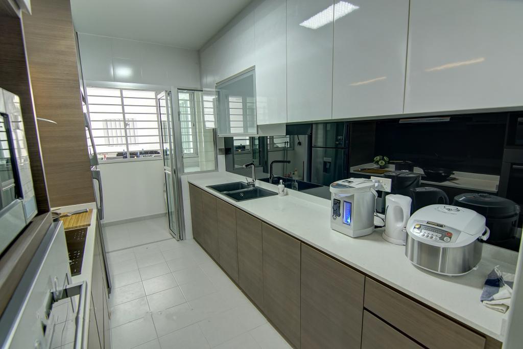 Traditional, HDB, Kitchen, Punggol, Interior Designer, Ai Concept, Indoors, Interior Design, Room