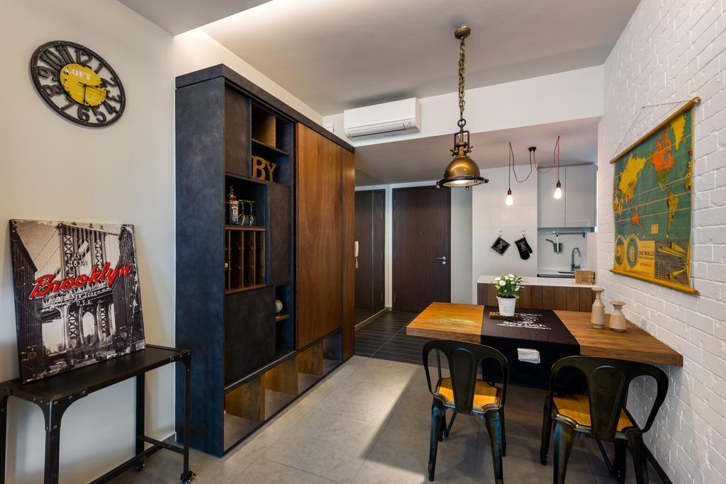 Scandinavian, Condo, Dining Room, Minton, Interior Designer, Prozfile Design, Indoors, Interior Design, Room, Dining Table, Furniture, Table, Chair