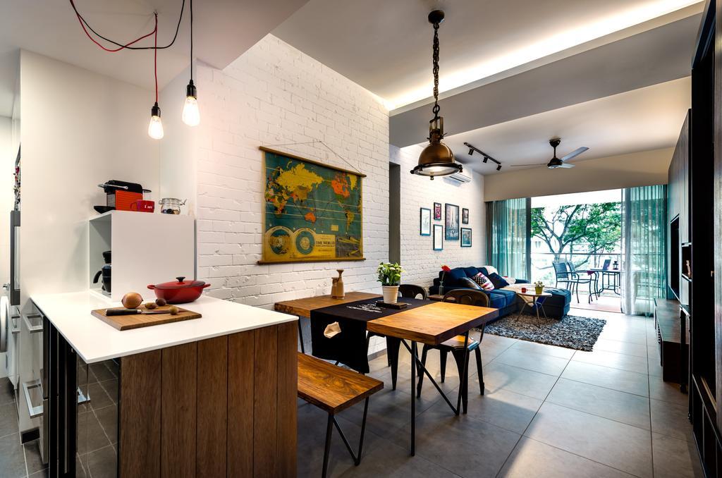 Scandinavian, Condo, Dining Room, Minton, Interior Designer, Prozfile Design, Indoors, Interior Design, Room, Dining Table, Furniture, Table