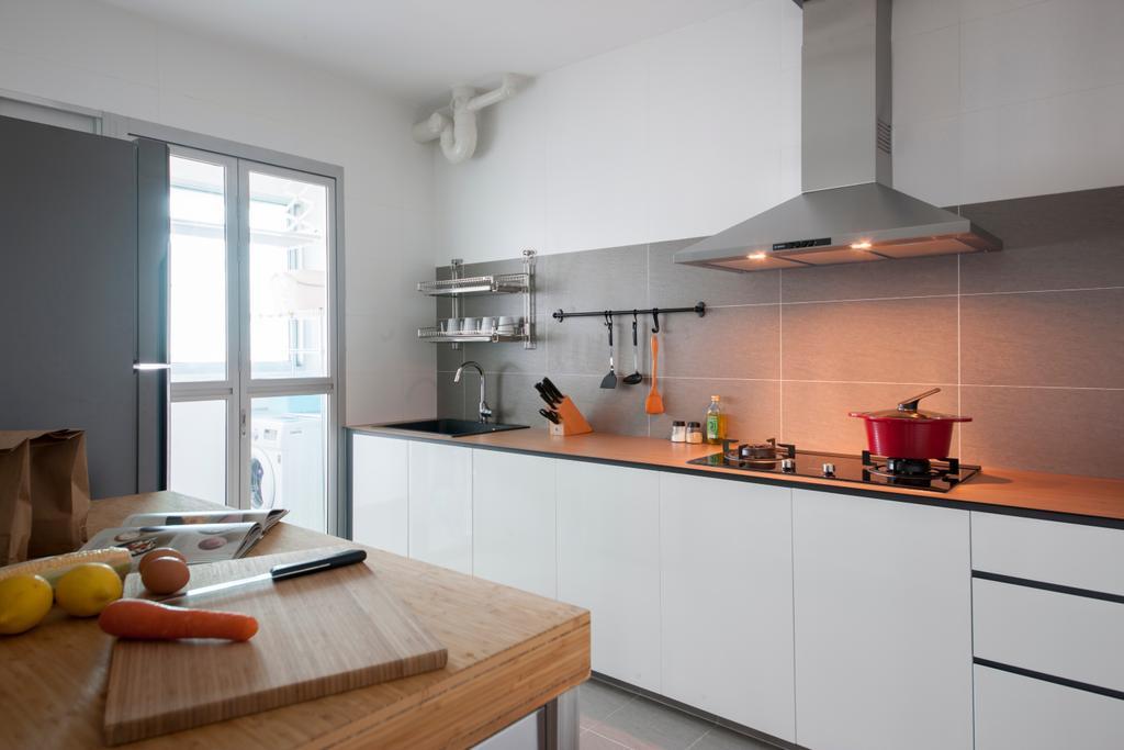 Scandinavian, HDB, Kitchen, Keat Hong Quad (Block 815B), Interior Designer, Starry Homestead, Indoors, Interior Design, Room