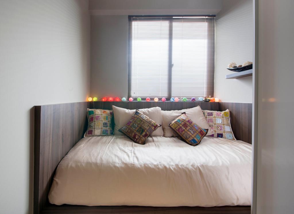 Contemporary, Condo, Bedroom, Cambio Suites, Interior Designer, The Orange Cube, Indoors, Interior Design, Room