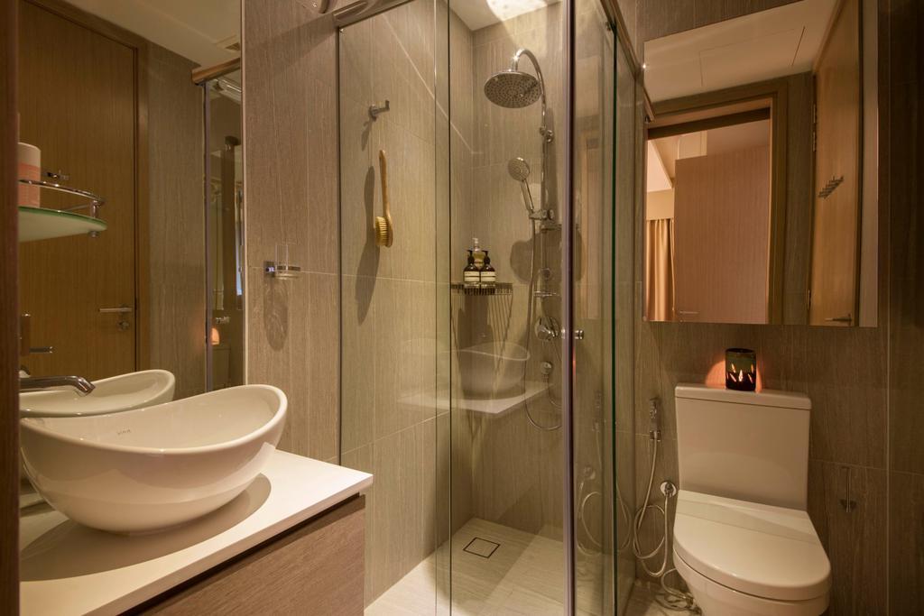 Contemporary, Condo, Bathroom, Cambio Suites, Interior Designer, The Orange Cube