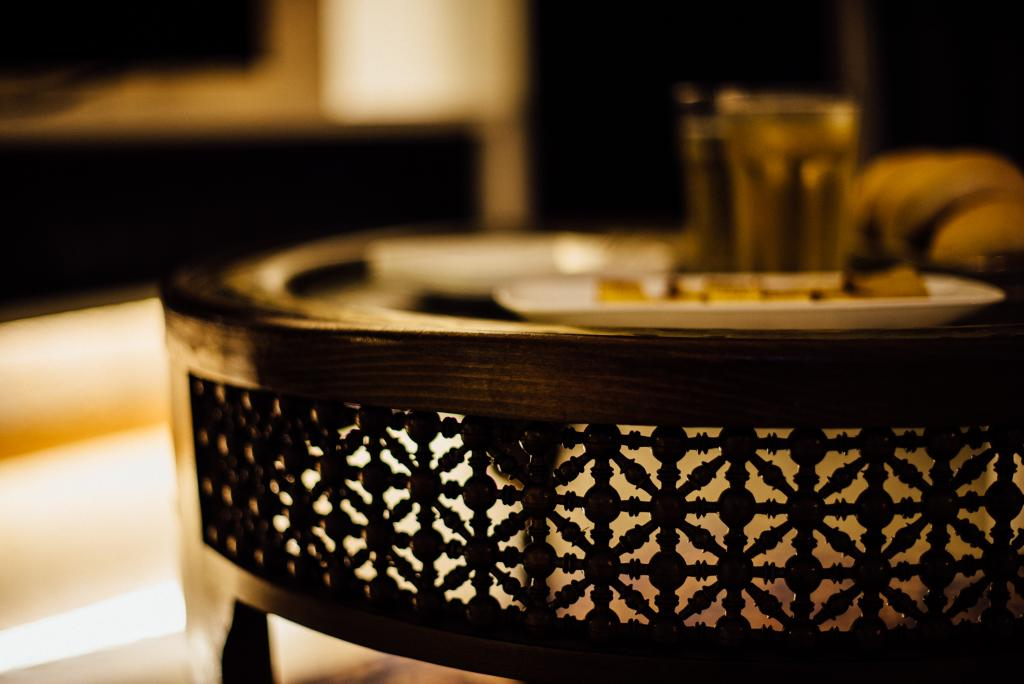 Modern, Condo, Pinevale, Interior Designer, Fatema Design Studio, Coffee Table, Furniture, Table, Cup, Dish, Food, Meal, Plate