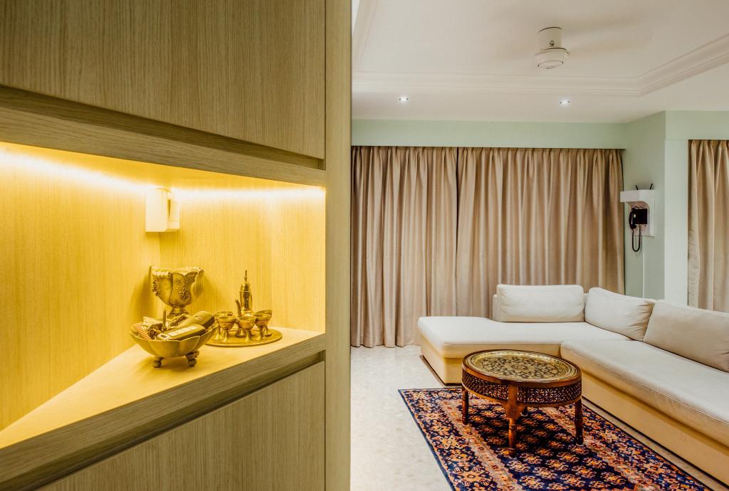 Modern, Condo, Living Room, Pinevale, Interior Designer, Fatema Design Studio, Indoors, Interior Design, Chair, Furniture