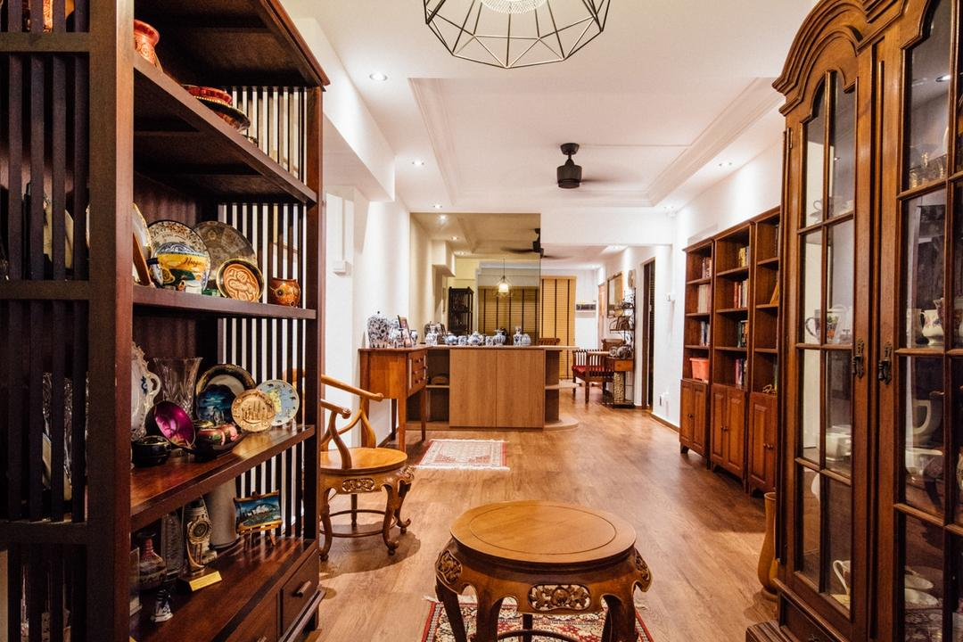 Woodlands Street 81(Block 803), Fatema Design Studio, Traditional, HDB, Appliance, Electrical Device, Oven, Plate Rack, Bookcase, Furniture