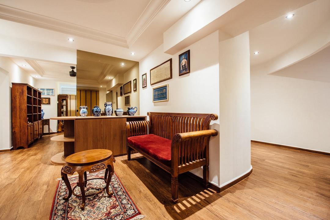 Woodlands Street 81(Block 803), Fatema Design Studio, Traditional, HDB, Chair, Furniture, Indoors, Room, Cabinet, China Cabinet, Dining Room, Interior Design, Studio Couch