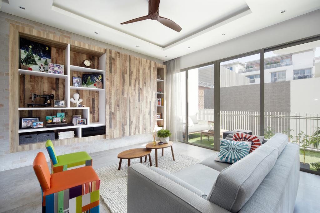 Eclectic, Condo, Living Room, Terrasse, Interior Designer, Free Space Intent, Retro, Chair, Furniture, Indoors, Interior Design, Dining Table, Table
