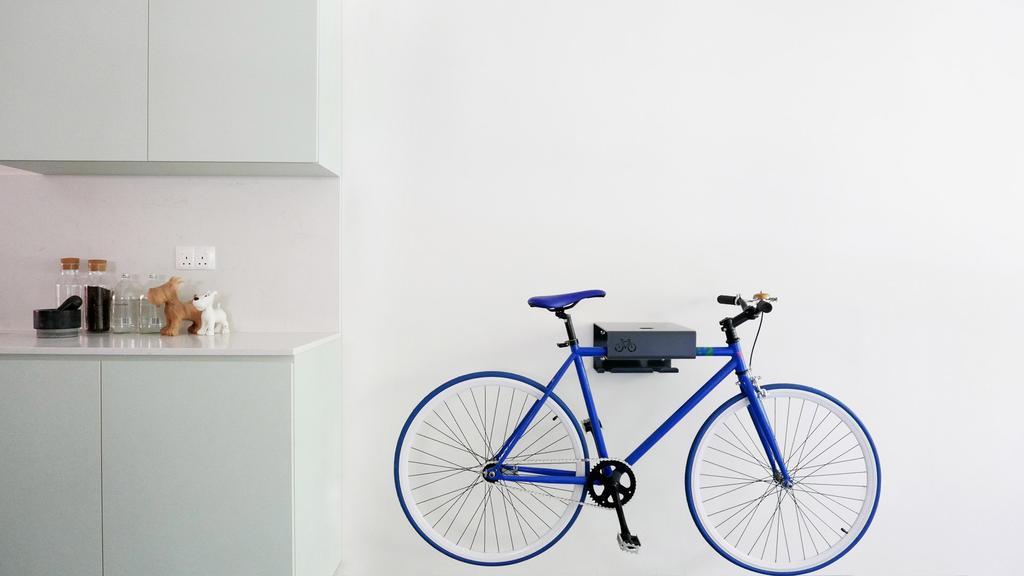Modern, HDB, Kitchen, HOLA, Architect, 0932 Design Consultants, Minimalist, Bicycle, Bike, Transportation, Vehicle