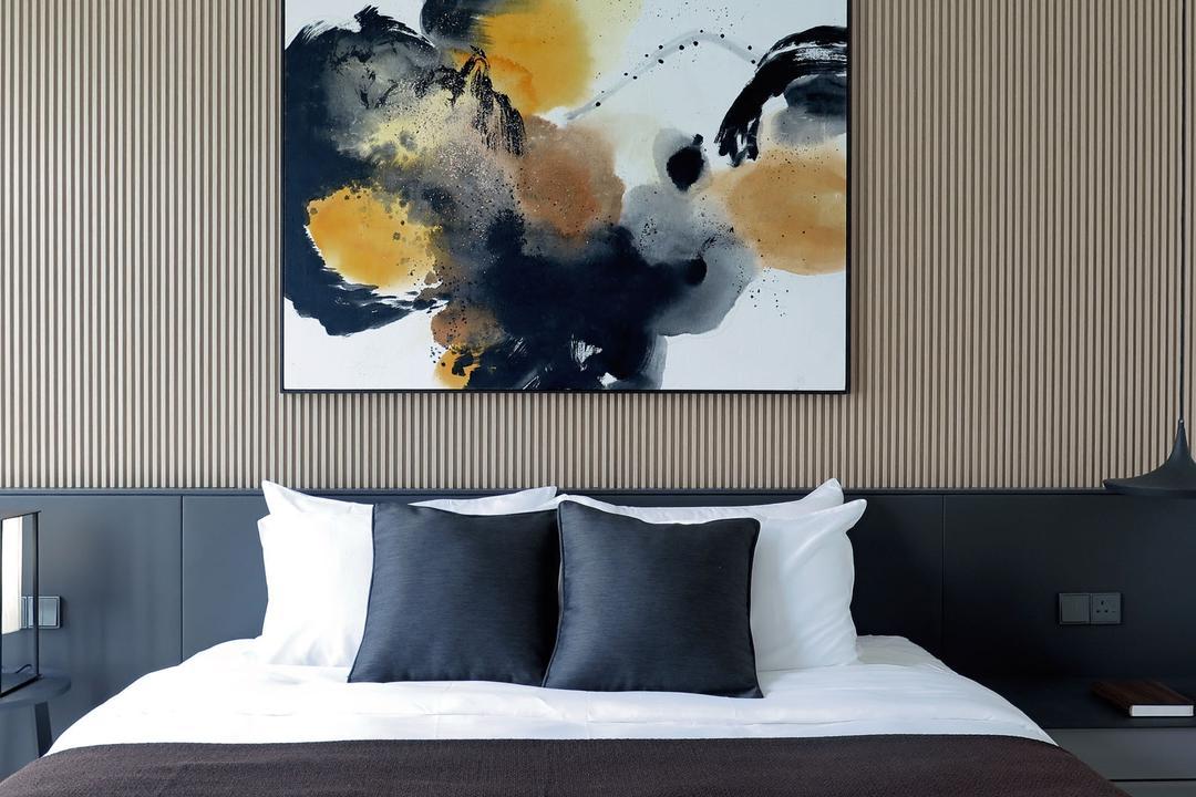 Villa 7, 0932 Design Consultants, Modern, Minimalistic, Bedroom, Condo, Collage, Poster