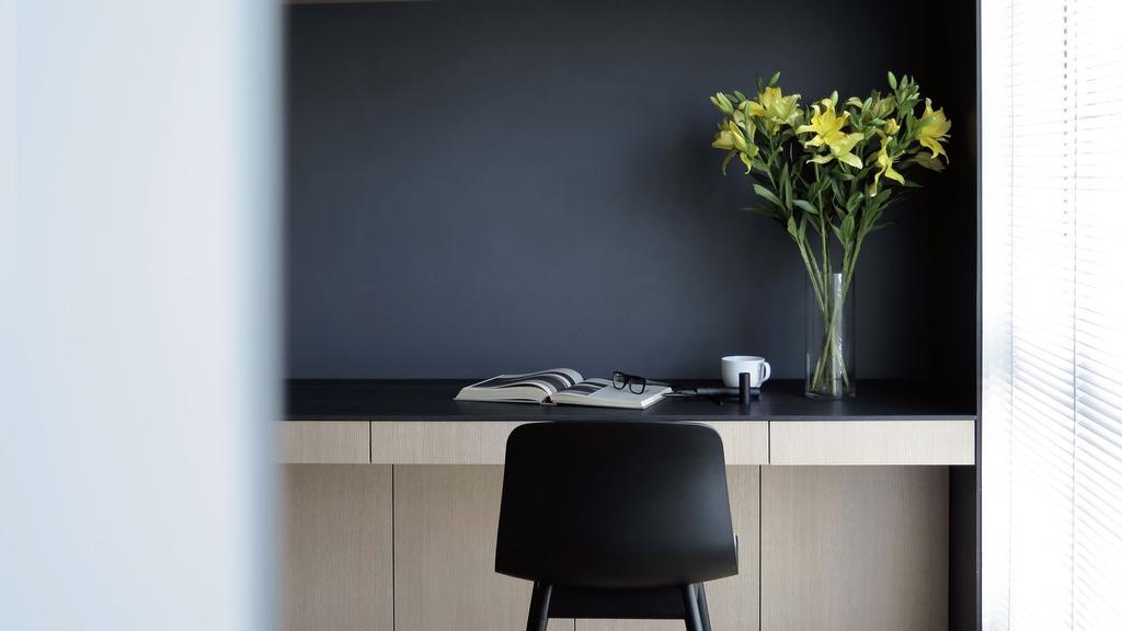 Modern, Condo, Study, Villa 7, Architect, 0932 Design Consultants, Minimalistic, Flora, Jar, Plant, Potted Plant, Pottery, Vase