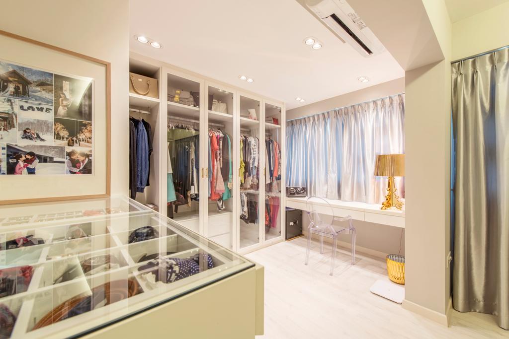 Minimalistic, HDB, Bedroom, Circuit Road, Interior Designer, Space Define Interior, Closet, Sink, Collage, Poster