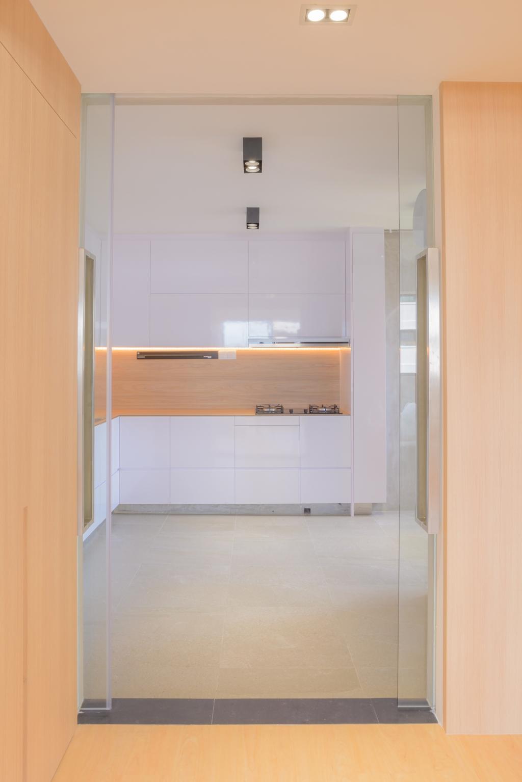 Minimalistic, HDB, Kitchen, Potong Pasir, Architect, FOMA Architects